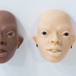Tamikan Space Gal Ife, Savanna, Steppe and Albino faceplates