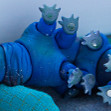 Tamikan Space Pet Tardigrade at home