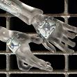 Прозрачные кибер-кисти рук для девчонки Киб из миров Тамикана