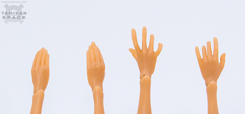 Basic hands of Tamikan Space Gals