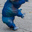 Tamikan Space Pet Tardigrade on a walk
